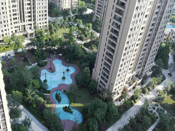 龙湖春江彼岸-武汉发泡陶瓷板工程